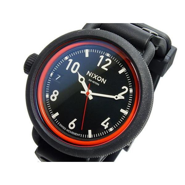 ニクソン NIXON 腕時計 メンズ 300m防水 ブラック OCTOBER