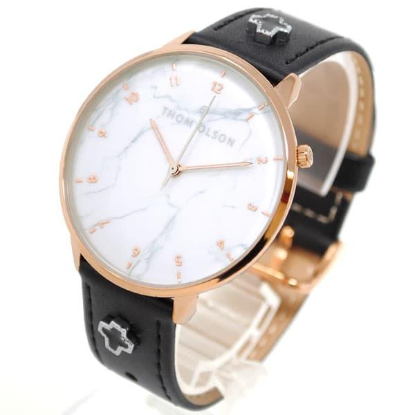 トムオルソン THOM OLSON 腕時計 レディース レザー