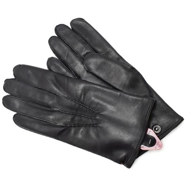 デンツ DENTS 革手袋 グローブ メンズ レザー BLACK Lサイズ