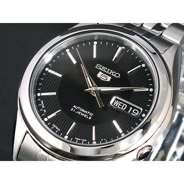 セイコー SEIKO 腕時計 メンズ 自動巻き ブラック系 セイコー5 SEIKO5