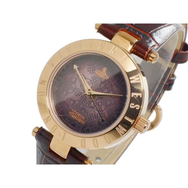 ヴィヴィアンウエストウッド VIVIENNE WESTWOOD 腕時計 レディース レザー ブラウングラデーション