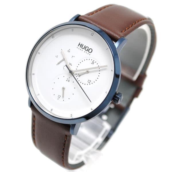 最大ポイント16倍 ギフトラッピング対応 プレゼント包装対応 ヒューゴボス メンズ 腕時計 本物 レビューを書けば送料当店負担 HUGO BOSS レザー