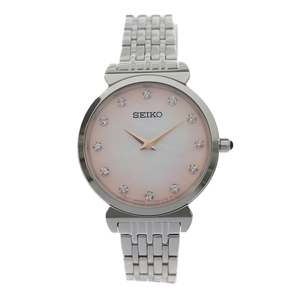 全日本送料無料 セイコー SEIKO 腕時計 レディース 腕時計 セイコー シェル SEIKO シルバー, ROSARY QUEEN【ロザリークイーン】:fe810f89 --- rishitms.com