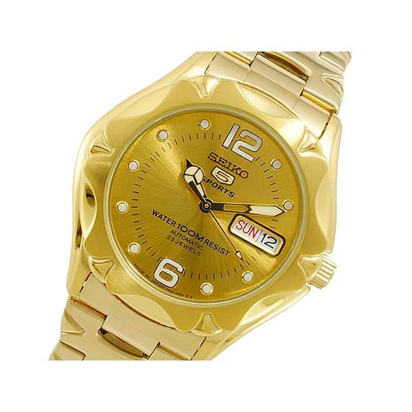 2021春の新作 セイコー SEIKO 腕時計 腕時計 メンズ SEIKO SEIKO5 自動巻き ゴールド SEIKO5 セイコー5, アカギムラ:babd26d3 --- rishitms.com