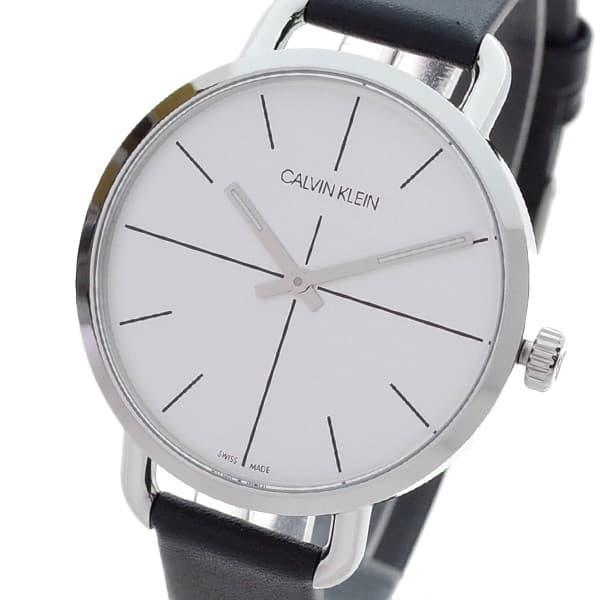 独特の上品 カルバンクライン Calvin Klein Klein 腕時計 レディース カルバンクライン シルバー レディース ブラック EVEN EXTENSION, LuLu Garden:3f9df640 --- rishitms.com