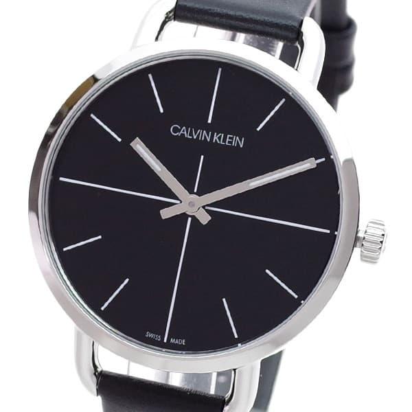 【新作からSALEアイテム等お得な商品満載】 カルバンクライン Calvin Klein EVEN 腕時計 レディース カルバンクライン ブラック ブラック EVEN EXTENSION, インナー下着通販のキナズ:8e946499 --- rishitms.com