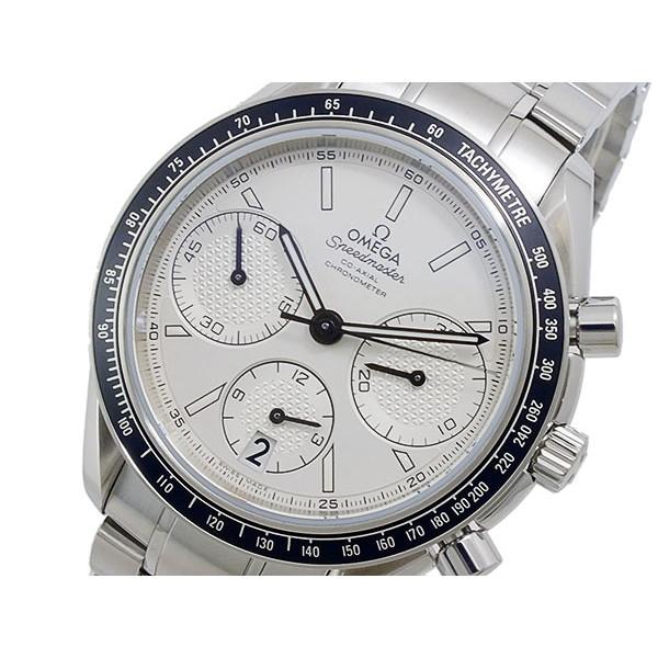 オメガ OMEGA 腕時計 メンズ 自動巻き クロノグラフ ホワイト×シルバー スピードマスター