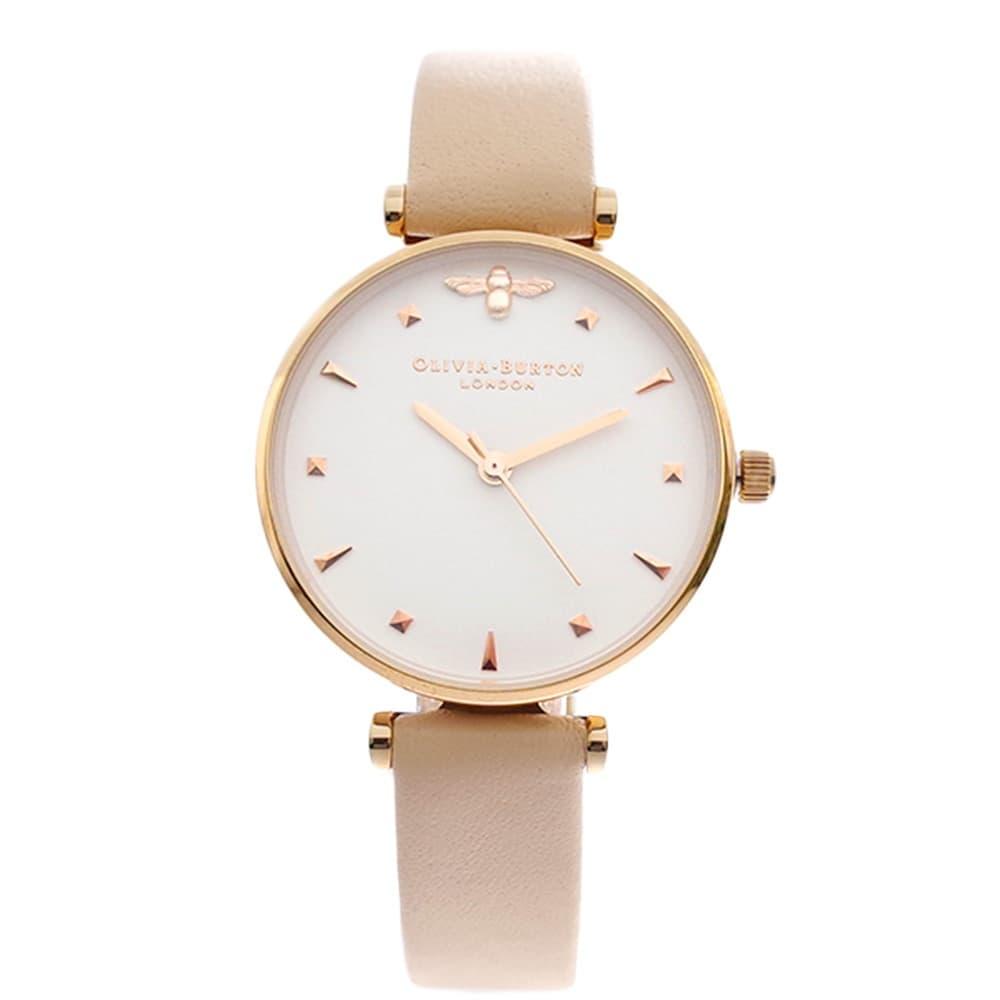 スーパーセール期間限定 オリビアバートン 腕時計 OLIVIA BURTON 腕時計 ホワイト レディース ホワイト レディース ピンク, スポーツネットさっぽろ:0c46f83f --- rishitms.com