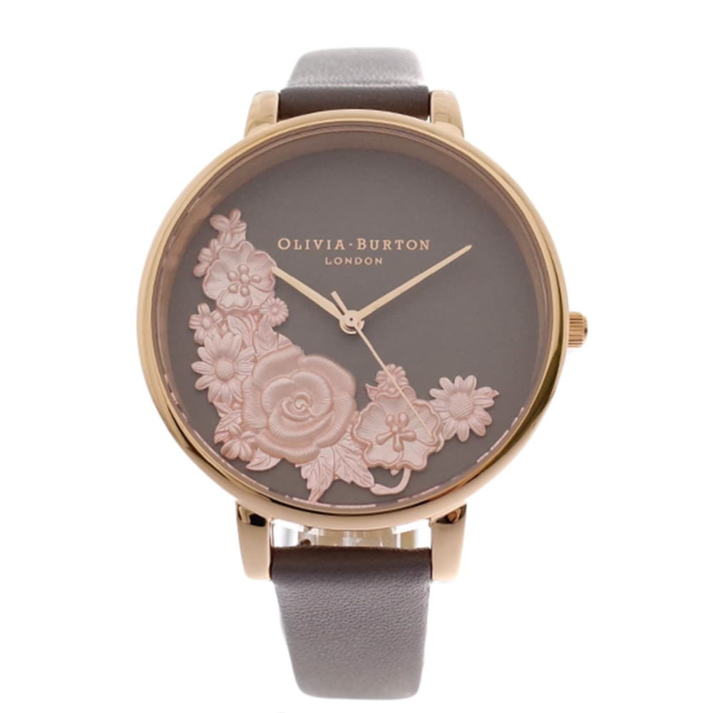 【18%OFF】 オリビアバートン レディース OLIVIA BURTON 腕時計 腕時計 レディース グレー ブラウン グレー, KICKBACK:773a514e --- rishitms.com