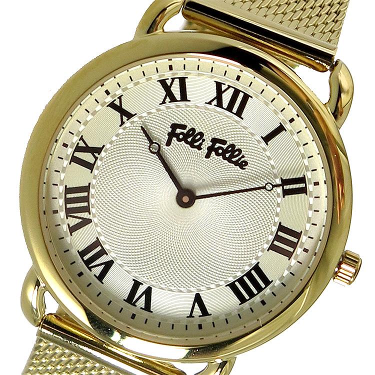 フォリフォリ Folli Follie 腕時計 レディース シルバー