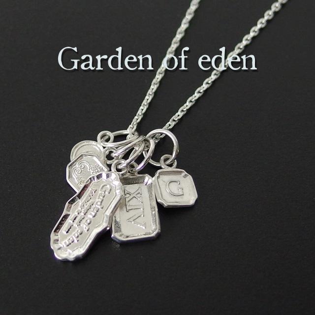 ガーデンオブエデン Garden of eden ホールマーク ネックレス HALL MARK NECKLACE メンズ レディース ユニセックス シルバー シンプル ギフト 【送料無料】