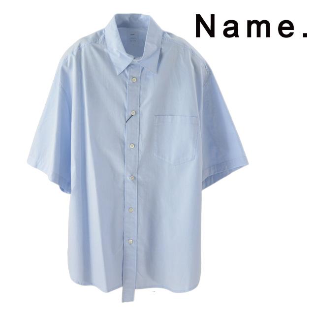SALE NAME. ネーム CHAMBRAY HALF SLEEVE SHIRT シャンブレー ハーフ スリーブ シャツ カジュアル メンズ 15:00までのご注文で即日配送 新作 倉 ストリート プレゼント 2019 祝日 Shirt ギフト 半袖