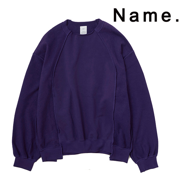 SALE NAME. ネーム スウェット INSIDE OUT CREWNECK SWEATER クルーネックスウェット トップス ギフト 15:00までのご注文で即日配送 新作 プレゼント 2019 与え メンズ 長袖 送料込