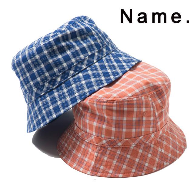 c2fc0dc79 NAME. Name COTTON PLAID BUCKET HAT cotton pail hat men hat hat cap 2019 new  work present gift