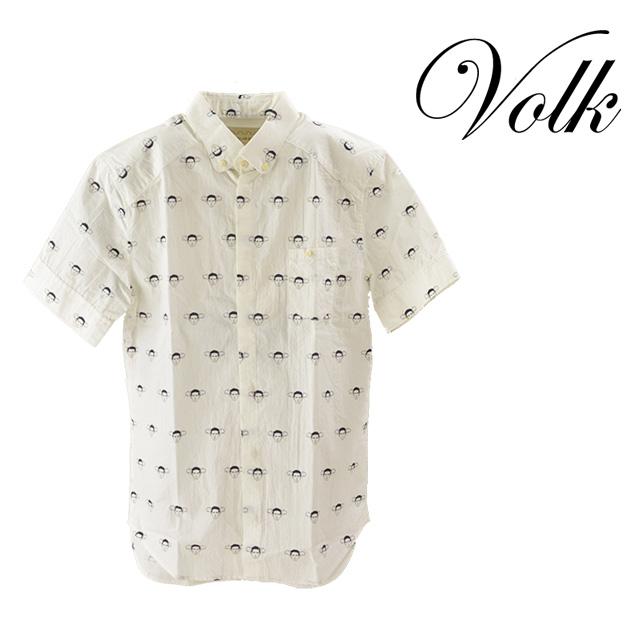 【送料無料】PARADI/パラディ Holiday shirt シャツ メンズ トップス 襟 コットン 半袖 夏 柄 抜け感 ボタン カジュアル
