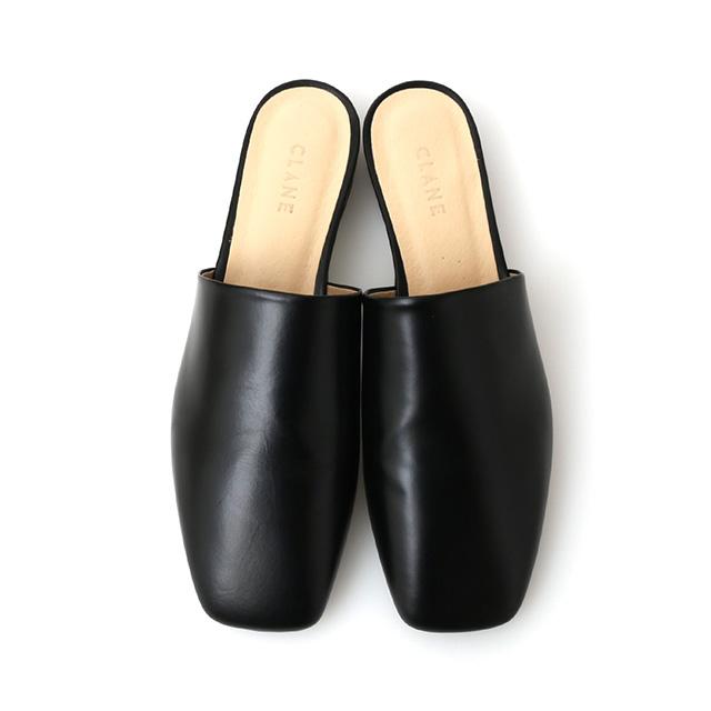 クラネ CLANE スクエアフラット サンダル SQUQARE FLAT SANDAL レディース ペタンコ ヒール つっかけ 靴 16115-8421 【2019 新作】 【送料無料】 プレゼント ギフト