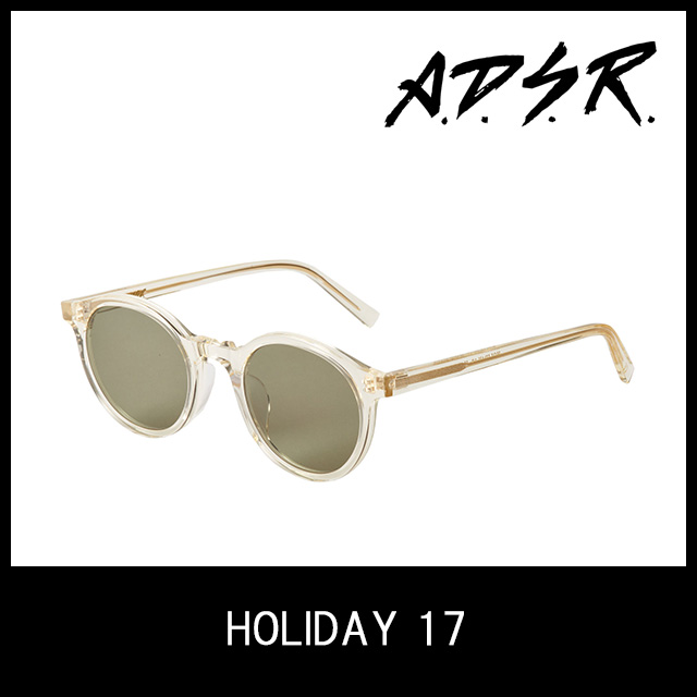 A.D.S.R. サングラス HOLIDAY 17 アイウェア エーディーエスアール ADSR 【正規取扱店】【15:00までのご注文で即日配送】 プレゼント ギフト