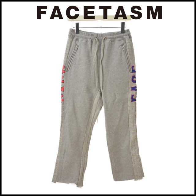 FACETASM ファセッタズム FACE SWEAT PANTS フェイス スウェット パンツ メンズ 7分丈 2018 新作 【15:00までのご注文で即日配送】 プレゼント ギフト