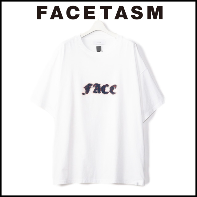 FACETASM ファセッタズム FACE BIG TEE フェイズ ビッグT メンズ 半袖 ストリート カジュアル ロゴT 2019 新作 【15:00までのご注文で即日配送】 プレゼント ギフト