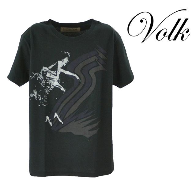【送料無料】HEALTH/ヘルス DOOPA プリントアップリケTシャツ メンズ トップス Tシャツ 半袖 ブラック 黒 カジュアル デザイン コットン100% 綿 夏