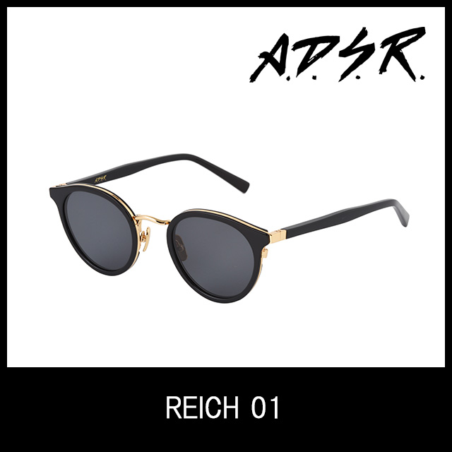 A.D.S.R. サングラス reich01 アイウェア エーディーエスアール ADSR 【正規取扱店】【15:00までのご注文で即日配送】 プレゼント ギフト