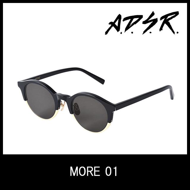 A.D.S.R. サングラス MORE 01 アイウェア エーディーエスアール ADSR 【正規取扱店】 プレゼント ギフト