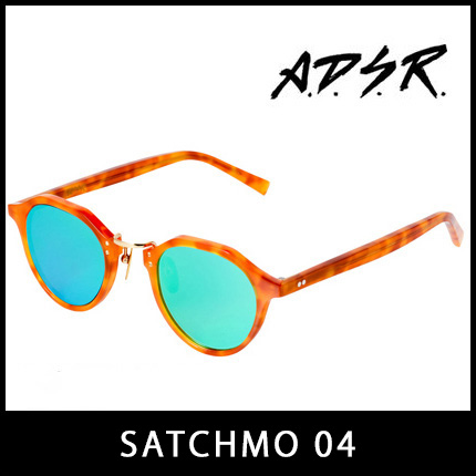 A.D.S.R. サングラス SATCHMO04 アイウェア エーディーエスアール ADSR 【正規取扱店】【15:00までのご注文で即日配送】 プレゼント ギフト