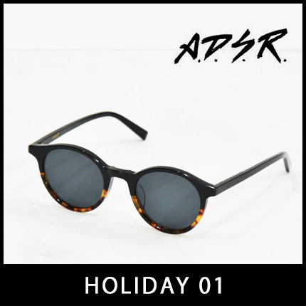 A.D.S.R. サングラス HOLIDAY01 アイウェア エーディーエスアール ADSR 【正規取扱店】【15:00までのご注文で即日配送】 プレゼント ギフト
