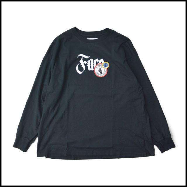 FACETASM ファセッタズム NORTHERN SOUL LONG TEE emblem logo big silhouette Ron T  big size men gap Dis unisex cotton 100% 2018 new work