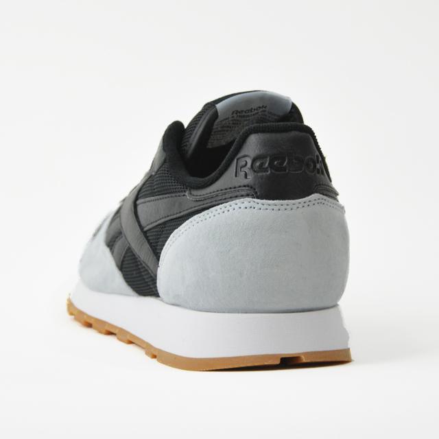 brand new dbec3 5ffc6 ... Reebok Reebok CL LEATHER SPP leather sneakers mens black white AR1895 REEBOK  CLASSIC ...