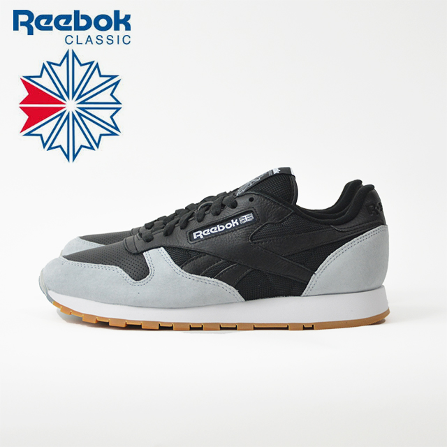 60a1b2b9d9f44 Reebok Reebok CL LEATHER SPP leather sneakers mens black white AR1895  REEBOK CLASSIC