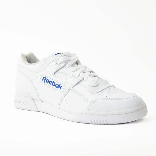 3ca369afac9 Reebok Reebok workout plus leather sneakers mens white white WORKOUT PLUS  2759 REEBOK CLASSIC