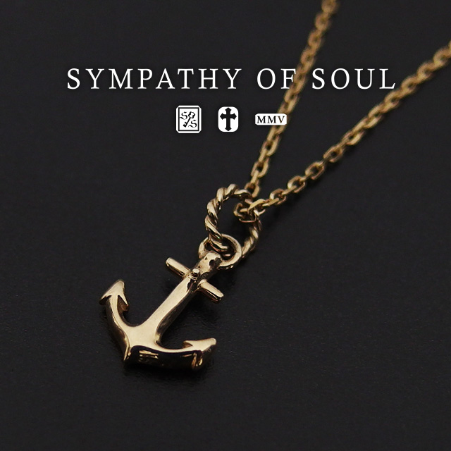 Store volk rakuten global market sympathizer sea of seoul anchor sympathizer sea of seoul anchor necklace k10 gold chain 13mm 45cm sympathy of soul anchor pendant necklace set k10yellow gold yellow gold accessories aloadofball Image collections