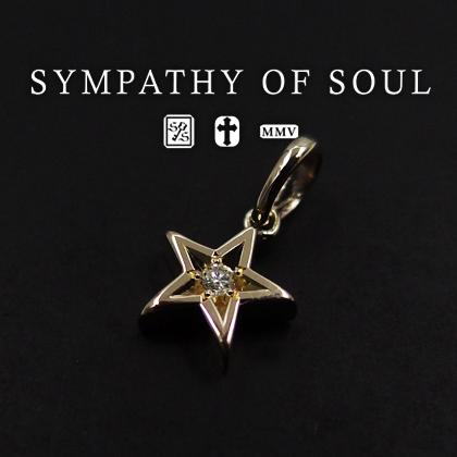 シンパシーオブソウル ネックレス Shine Star K10 YG w/Diamond レディース sympathy of soul ペンダント チョーカー アクセサリー【送料無料】 プレゼント ギフト シンパシー オブ ソウル