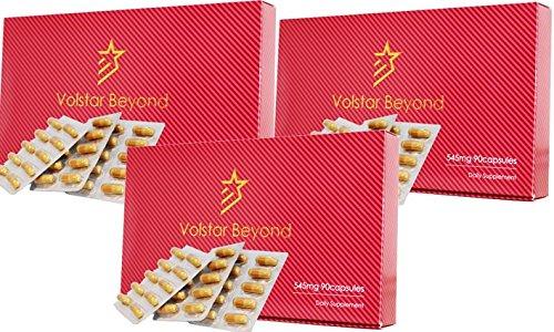 公式/自信増大サプリメント Volstar Beyond(ヴォルスタービヨンド) 3箱 L-シトルリン/L-アルギニン/亜鉛/マカ配合