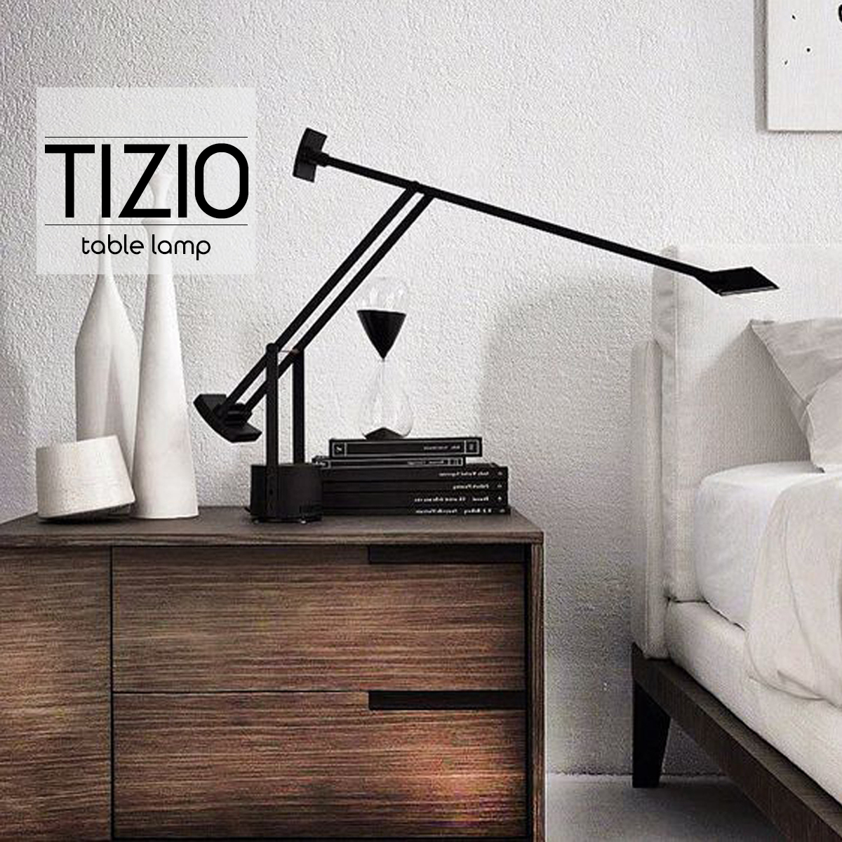 TIZIO ティチオ Richard Sapper リチャード・サパー デスクライト スタンドライト LED デザイナーズ照明 間接 読書灯 照明