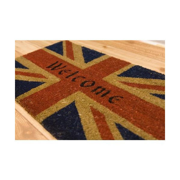 Vs Vs66 American Coco Mat Union Jack Welcome Uk Flag