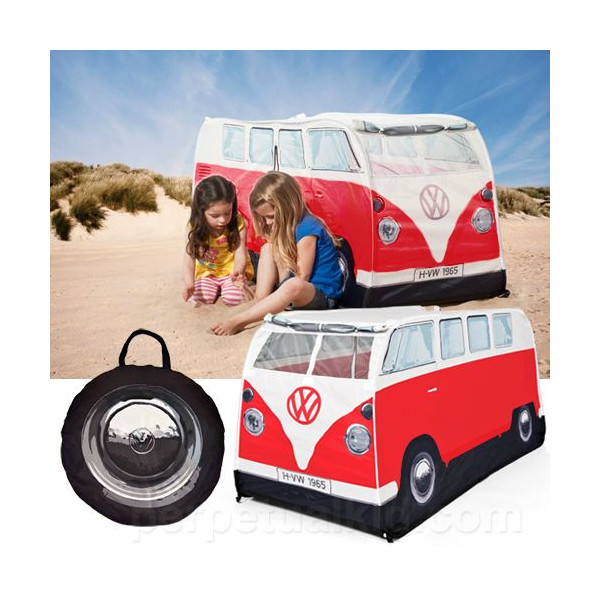 Volkswagen bus kids play tent (red) Volkswagen room in the outdoor childrenu0027s tent VW bus toy toys American gadgets American gadgets  sc 1 st  Rakuten & vs-vs66 | Rakuten Global Market: Volkswagen bus kids play tent ...