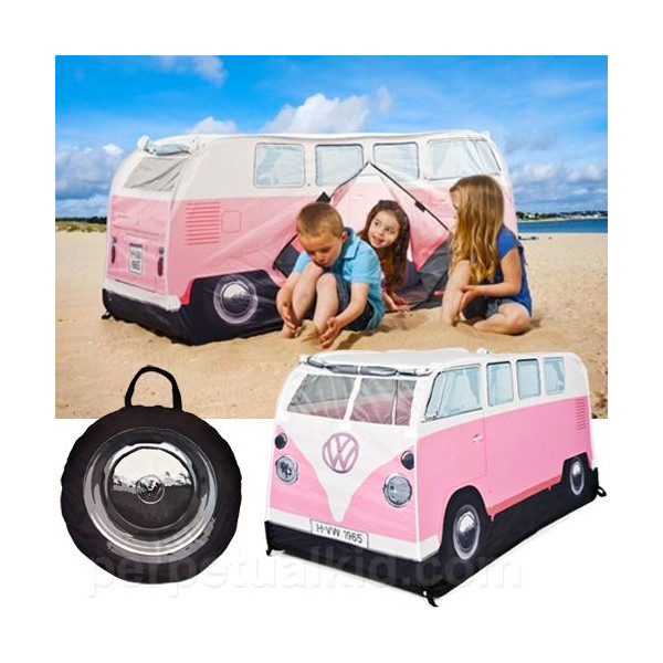 Volkswagen bus kids play tent (Pink) Volkswagen room in outdoor childrenu0027s tent VW bus toy toys American goods American gadgets  sc 1 st  Rakuten & vs-vs66 | Rakuten Global Market: Volkswagen bus kids play tent ...