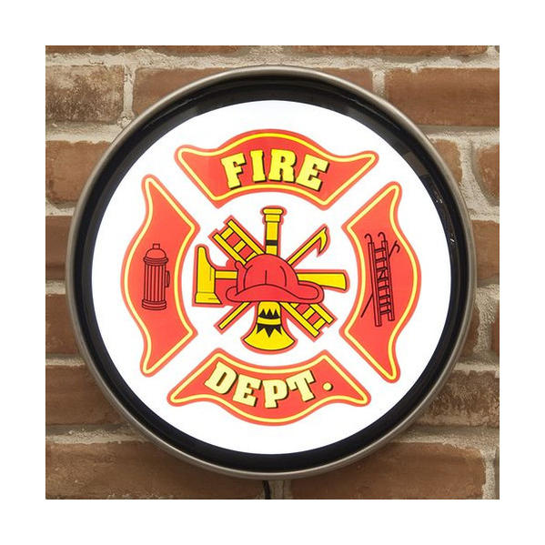 Fire Dept. 消防署 ウォールランプ 照明 アメリカン雑貨 世田谷ベース グッズ