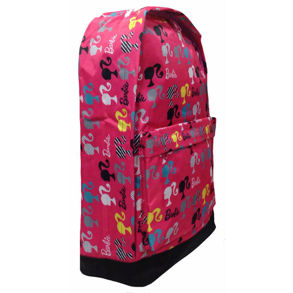 芭比娃娃芭比娃娃大背包 (輪廓) 為兒童成人女孩女孩包袋背包粉紅色的芭比娃娃玩具