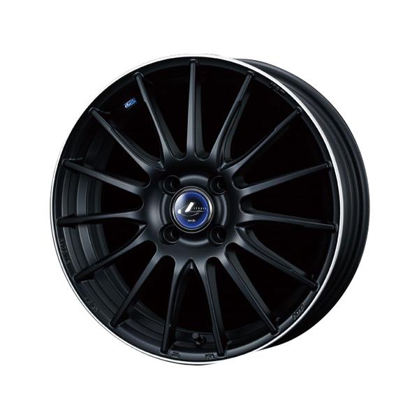 レオニス navia05 15インチタイヤアルミホイール 4本セット HANKOOKタイヤ 「アルミホイール シルバー ブラック ミラーカット」 「送料無料」
