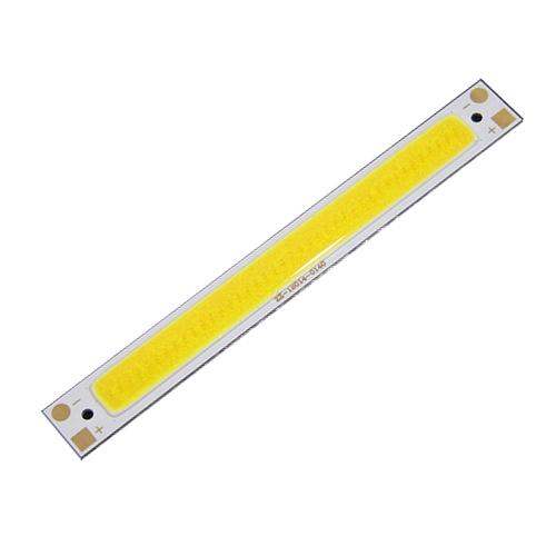【当日発送】【メール便発送可能】LEDライト工作に。 低電圧 COB LEDモジュール単体 【14×120mm】 DC3V~4V 電球色<ハンダ盛り済み>