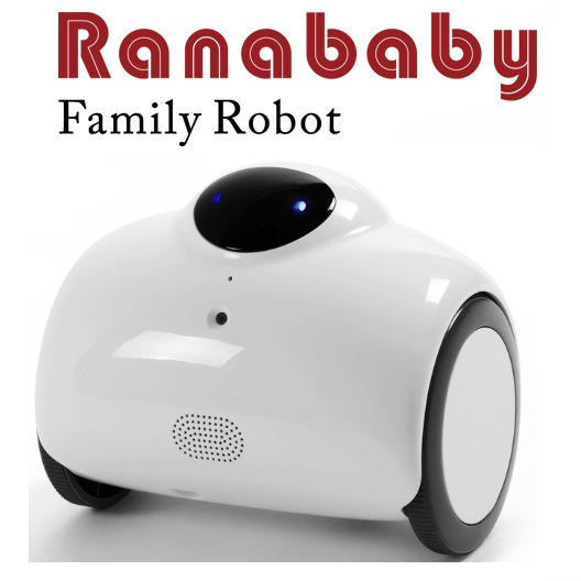恵安 ファミリーロボット「Ranababy」 RB01-W【キャッシュレス5%還元】