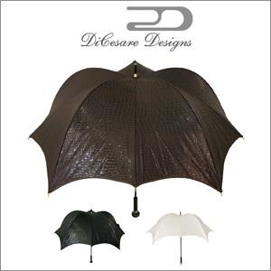 DiCesare Designs(ディチェザレデザイン) 長傘 手開き 晴雨兼用雨傘 PUMPKINBRELLA WALKER CROCODILEJACQUARD