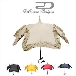 DiCesare Designs(ディチェザレデザイン) 長傘 手開き 晴雨兼用日傘 SAKURA LINDA