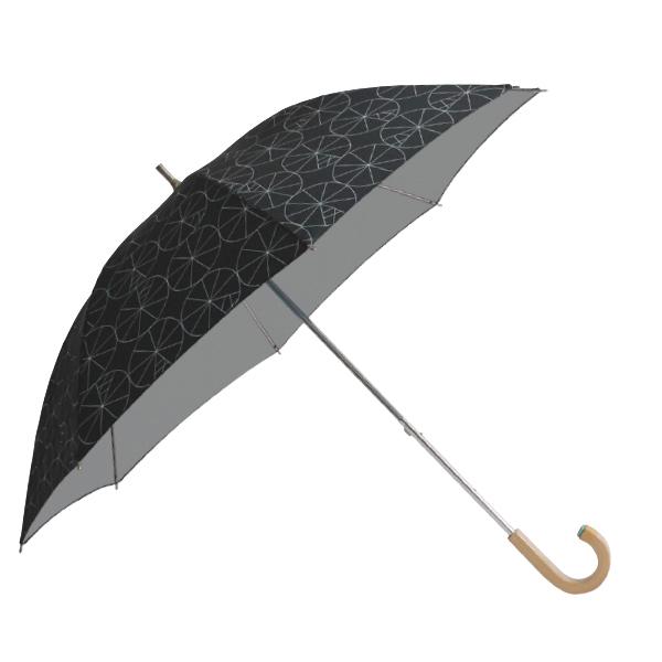 コルコ ショートスライド式 全8柄 長傘 手開き 日傘/晴雨兼用 コールミー 8本骨 50cm