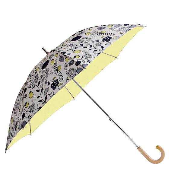 コルコ ショートスライド式 全8柄 長傘 手開き 日傘/晴雨兼用 大好きなガーデン 8本骨 50cm