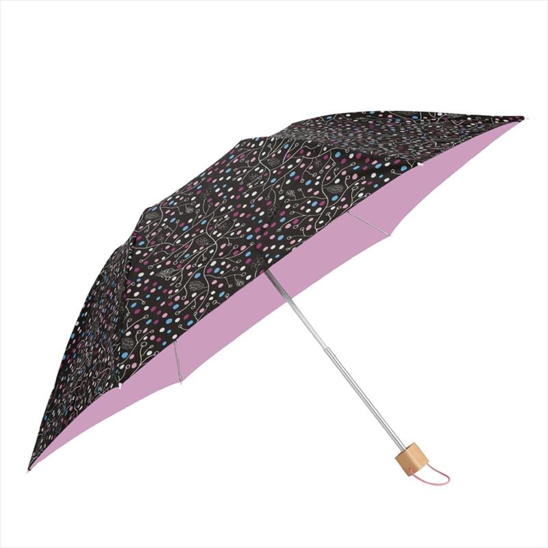 コルコ 折りたたみ傘 手開き 日傘/晴雨兼用傘 クイック オープン 全6色 パインツリー 6本骨 50cm