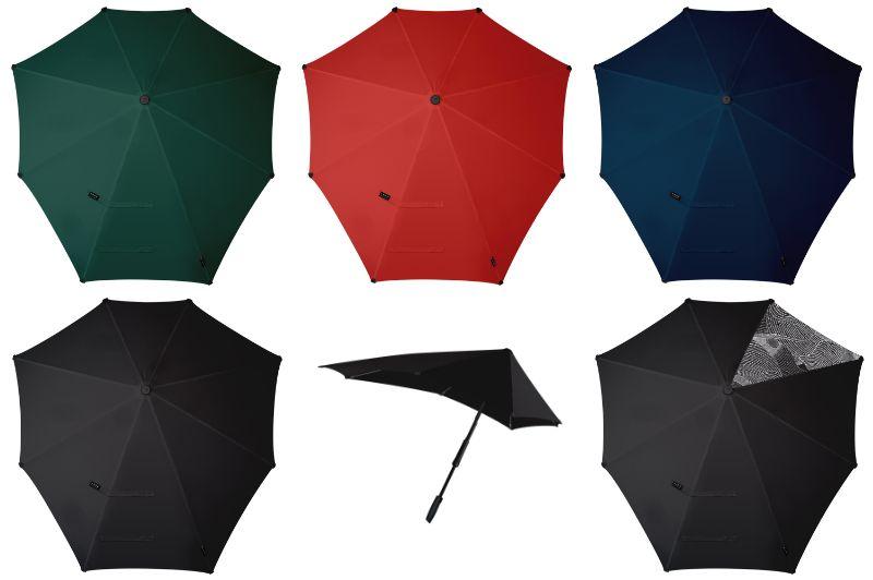長傘 手開き 晴雨兼用傘 ユニセックス Senz センズ ガズ 耐風 撥水 UVカット Large ラージ